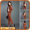 2013 Fashion Ladies Cheap Brown Suit Set Women Elegant