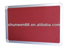 Standard bulletin board