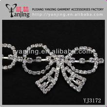 garment accessories rhinestone lace trim