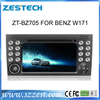 ZESTECH Dual Zone car dvd player for Benz W171 built in gps navigation system car dvd bluetooth tv