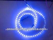 12v DC,600leds 5mm width 3528 Flexible led strip light super bright