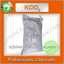 Potássio Chlorate 99.5% Anti - caking pó branco KCLO3 potássio Chlorate venda
