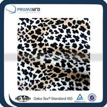 plush fabric for making soft toys polyester pv plush fabric printed micro fleece fabric