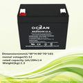 12v 14ah selladas de plomo ácido de la batería
