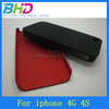 Mobile phone accessories wholesale for iphone 4S smooth hard case