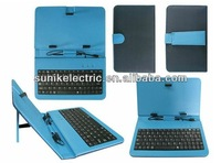 """Promotion Andriod 7"""" tablet pc keyboard case with beautiful design"""