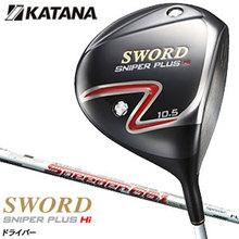 KATANA 2014 year moderl SWORD SNIPER PLUS Hi-COR japanese Drivers with FUJIKURA Motore Speeder 661 shaft
