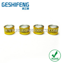 8mm 7mm plastic custom pigeon ring bands new choice for pigeon and birds pigeon fanciers