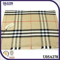 2014 european checked fashion scarf shawls lady scarf