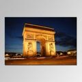 La mano de puro- pintado de alta calidad pintura al óleo famosa edificios de de arco del triunfo