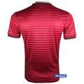Ropa de los hombres camisas de honduras, diseños para los uniformes de fútbol material de la tela jersey de fútbol de venta al por mayor