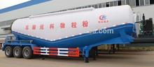 Granel em pó mercadorias tanker, utilizados navios graneleiros, trailer montado betoneira para venda