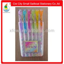 Sale rainbow color gel ink pen