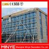 Cheap curtain wall price/visible aluminum frame glass curtain wall/glass curtain wall price