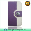 Cheap Button Decoration Wallet Flip Leather Case Cover For Samsng Galaxy S3 mini I8190