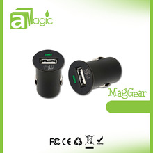 Mini type USB Car Charger 1-port High Efficiency USB Car Charger
