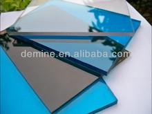 High quality AR-2 abrasion resistant polycarbonate sheet/100% virgin lexan resin