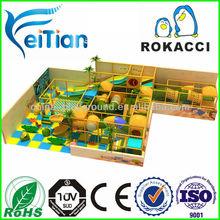 Best quality safety children indoor playground plastic playsets