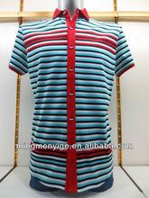 2014 newest 100% mercerized cotton men's t shirt clothes wholesale