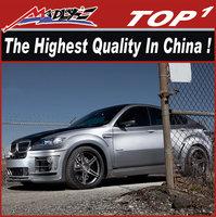 NEW Fiber glass car body kits for X6 2008-2013 wide body HM style dual exhaust x6 body kit
