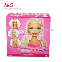 Custom cardboard box barbie