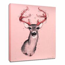 Christmas Deer Wall Painting