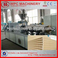 wpc door panel profiles making machine