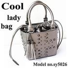 bags woman factory priced ladies bags wholesale handbags skull studded tote bag SY5026