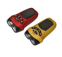 2014 Outdoor Sport Portable Mini Speaker Hidden Camera for mountain bike with flashlight