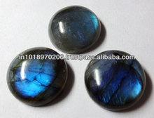 Natural Labradorite 20mm Blue Fire Round Cabochon Jaipur