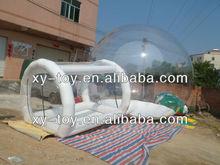 personalizado claro inflável bolha transparente barraca