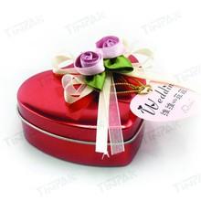 Germany popular valentine chocolate tin box packaging