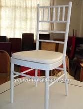 white metal tiffany wedding chair(YA-C001A)