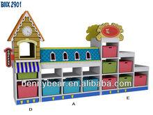 Hot Sale Kindergarten Furniture Children Toy Storage Cabinet