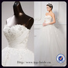 s613 Hot Sale Czech Drill Beaded Wedding Dress Ball Real Sample