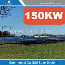 Solar power plant, solar power plant 150kw on grid