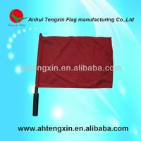 plastic pole hand flags