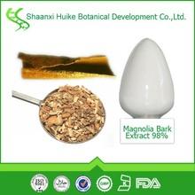 100% Pure Natural Magnolia officinalis bark Extract magnolol honokiol powder
