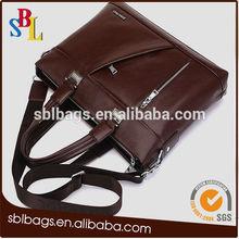 leather tote bag blank handbag for men custom logo handbag