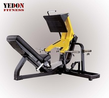 Commercial leg press plate loaded gym/hammer strength/yedon fitness factory Guangzhou (YD-4802)