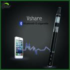 2014 newest hit! kingway patent bluetooth ecig vshare as phone&music player use/kingway vshare vaporizer pen