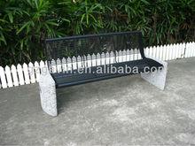 Best sale garden settings/garden stone seating/black steel seating