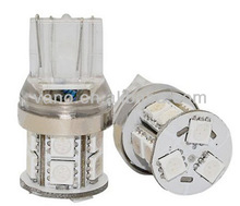 High Quality CE Approved Turn Light for Cars Wedge W3x16s 13leds 5050 SMD T20 W21/5W 7443 Led