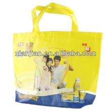 Custom-Made Coating Silk Printed Shopping Bag (BCS006)