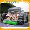 New design inflatable car bouncy bouncer for sale