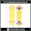Fish skateboards light yellow deck penny skate boards