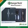 Pure vapor clear atomizer kanger protank mini 2,kanger protank 2 mini pyrex glass tube
