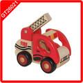 raspador de madera de juguete camiones y coches