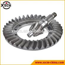 Loader parts bevel gear, spiral bevel gear, differential bevel gear