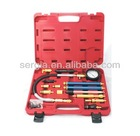Auto Repair Tool / Engine Service Tool / Diesel and Petrol Engines Compression Tester Set